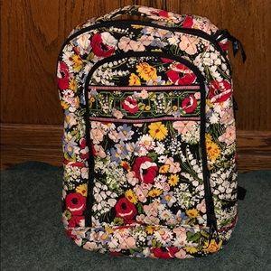 Like new Vera Bradley backpack with laptop holder